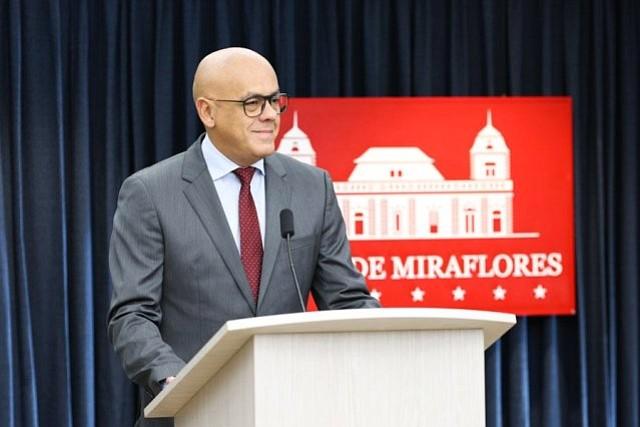 VENEZUELA. Ministro de Comunicación e Información de Venezuela, Jorge Rodríguez