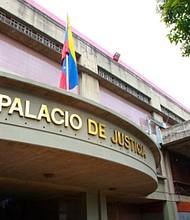 VENEZUELA. El Palacio de Justicia, en Caracas
