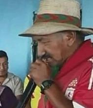 EEUU. El líder indígena fue identificado como Emiliano Tróchez