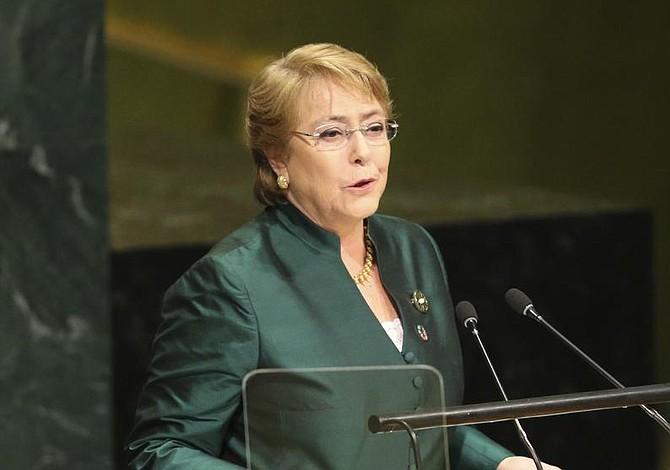 "Bachelet: ""Cumpliré con toda mi fuerza"""