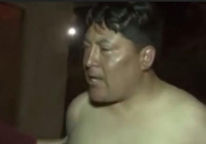 Diputado boliviano se desnuda y agrede a policías en el Aeropuerto Internacional Jorge Wilstermann