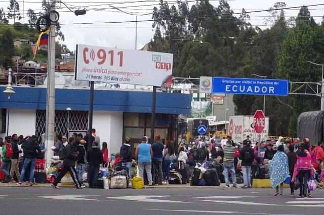 Ecuador: Quito decreta estado de emergencia humanitaria por llegada masiva de venezolanos