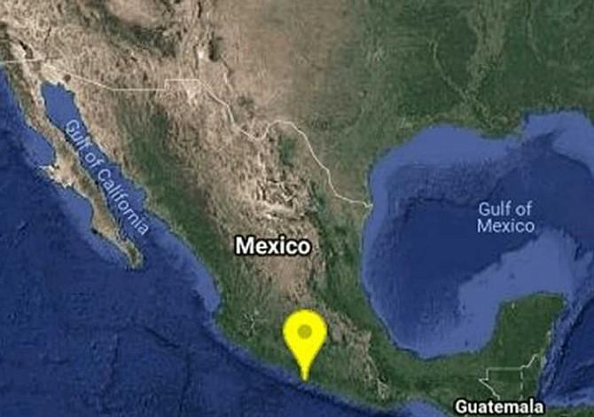 Sismo de 5.2 grados se registra en Tecpan, México