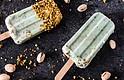 Paletas de Yogurt de Pistacho