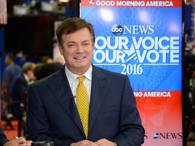 EEUU. Paul Manafort, exjefe de campaña de Donald Trump