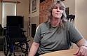 Shannon Hubbard padece un complejo síndrome de dolor localizado y se considera afortunada que su doctor no le cortara por completo su dosis de opioides.