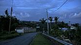 Hogares sin electricidad desde el huracán María en la ciudad de Jacanas, Puerto Rico, el 18 de mayo de 2018.