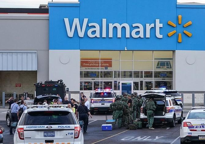 Cuatro heridos en un tiroteo en un Walmart de Filadelfia