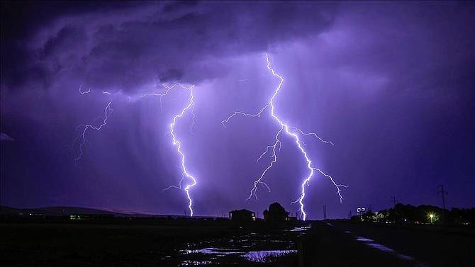 CARIBE. Debido al paso de ondas tropicales se vienen registrado fuertes tormentas eléctricas en el país