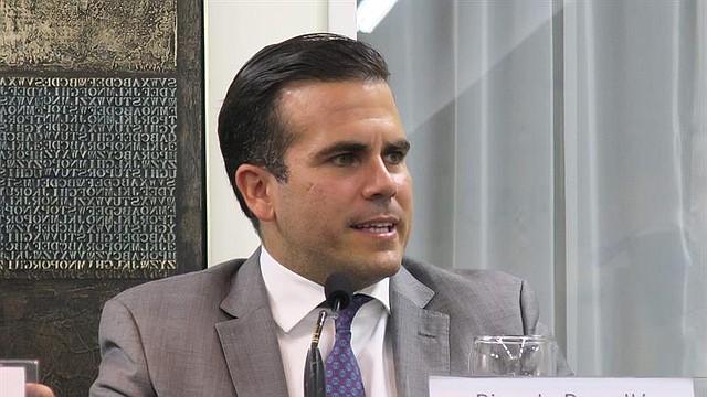 PUERTO RICO. El gobernador Ricardo Rosselló
