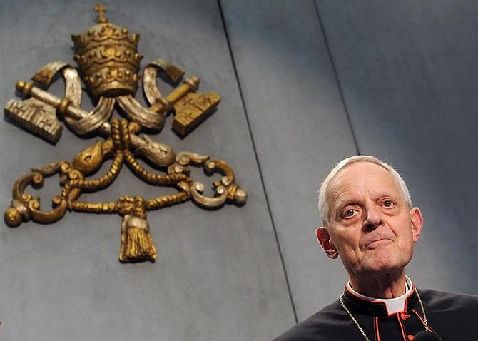 IGLESIA. Foto de archivo de 2012 del cardenal Donal Wuerl, arzobispo de Washington DC, quien se desempeñó como obispo de Pittsburgh, una de las diócesis en las que se ha investigado casos de abusos en Estados Unidos