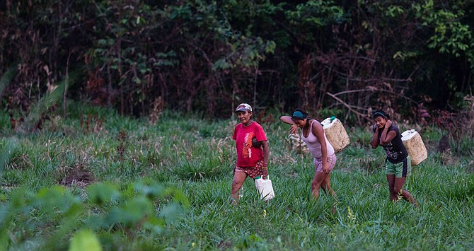 COLOMBIA -El drama de 3.700 indígenas en riesgo de desplazamiento forzado en el Chocó.