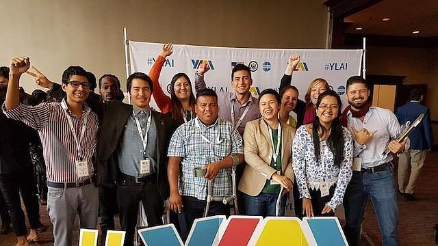 LÍDERES. Jóvenes latinoamericanos que participaron anteriormente el programa de entrenamiento y capacitación de YLAI.