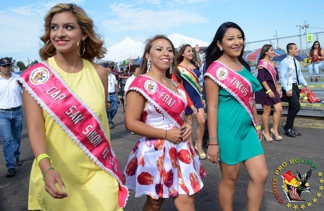 BELLEZA. Algunas de las soberanas de la edición 2016 del Festival.