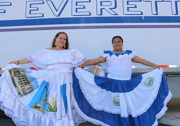 En la edición 2017 del Festival la Guera de Oro y Gladis Montes muestran lindos vestidos
