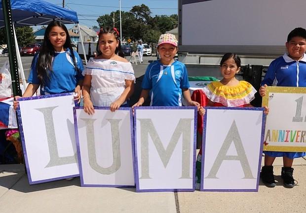 Los niños de LUMA en el Festival Multicultural 2017