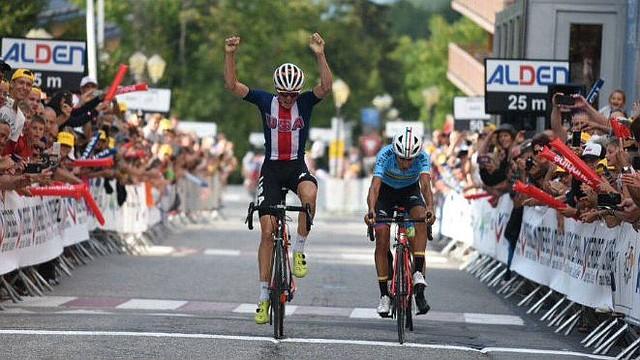 CICLISMO. Iván Ramiro Sosa se impuso en la séptima etapa del Tour de L'Avenir