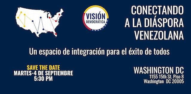 El evento que se realizará el 4 de septiembre será un espacio de encuentro de la diáspora venezolana.