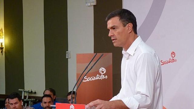 AYUDA. Pedro Sánchez, presidente del gobierno español