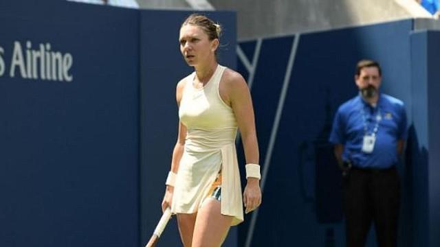 TENIS. La rumana Simona Halep cayó en su debut