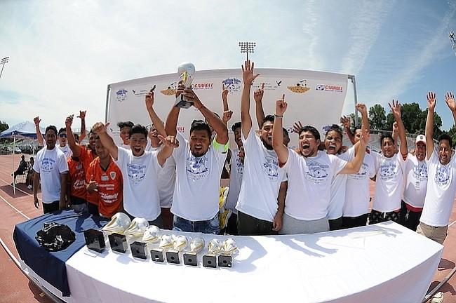 Real Chiapas levanta la Copa de campeones del Torneo de Copa de la American Soccer League 2018.