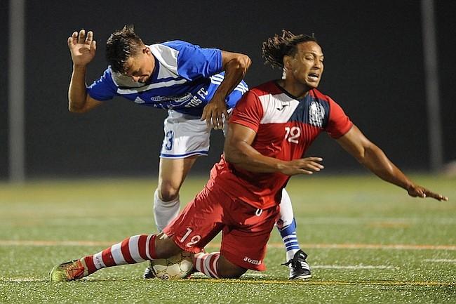 Olimpia FC derrotó a Los Lagartos FC en la primera ronda de tiros de penal súbito después de empatar 2-2 en tiempo regular y 3-3 en tiros directos de penal.