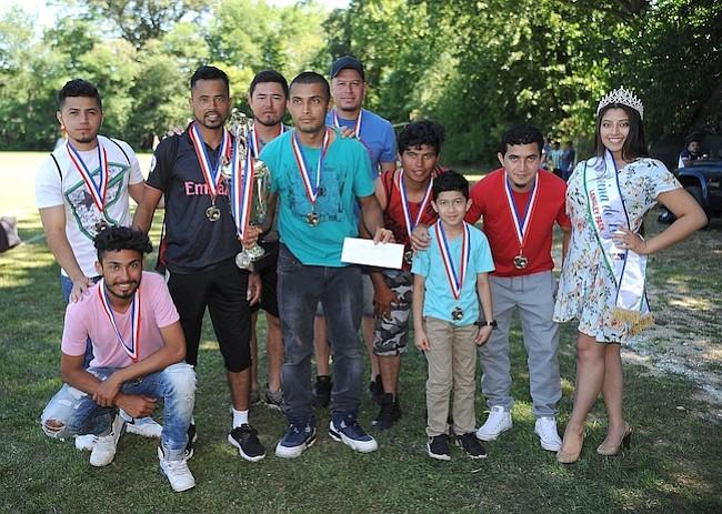Deportivo Izabal fueron los sub-campeones de la Liga de Langley Park, Torneo Apertura 2018.