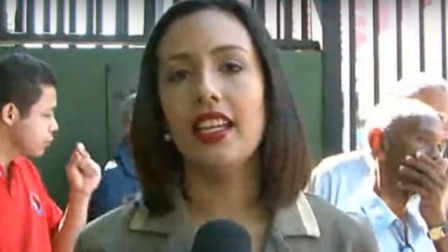 VENEZUELA. Ana Rodríguez, periodista de VPI
