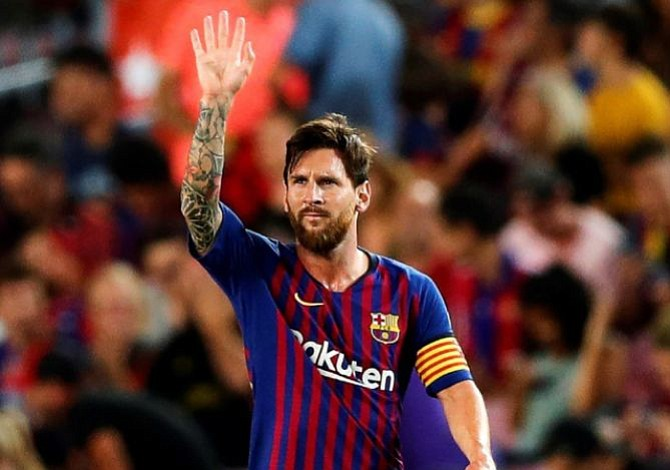 Messi reconoce que le sorprendió la salida de Cristiano Ronaldo del Real Madrid