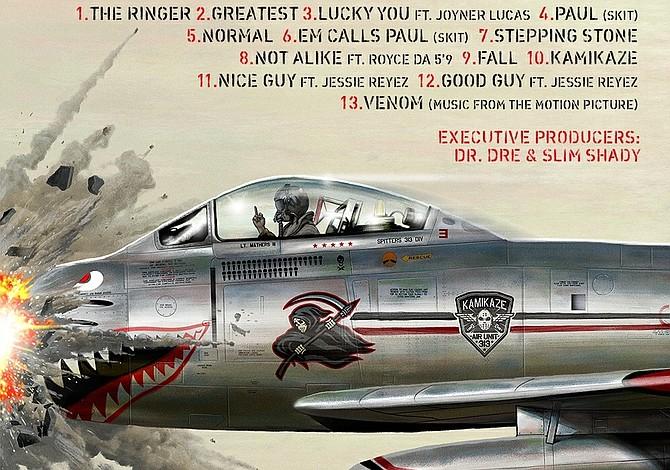 Kamikaze: el nuevo disco sorpresa de Eminem