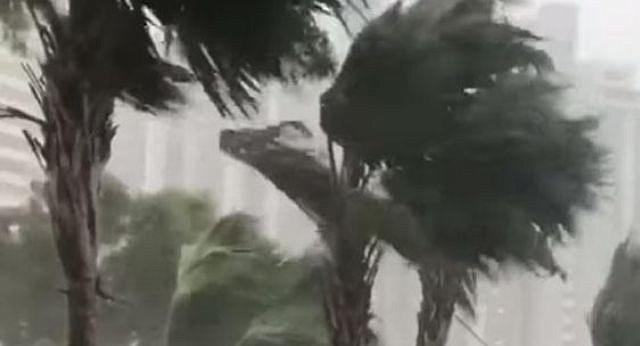 CLIMA. Se pronostica un fortalecimiento adicional durante la próxima 36 horas de la tormenta tropical Gordon