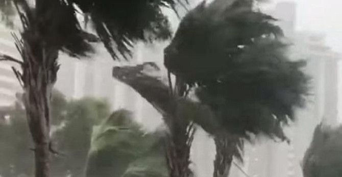 Tormenta tropical Gordon se traslada al oeste de la Florida