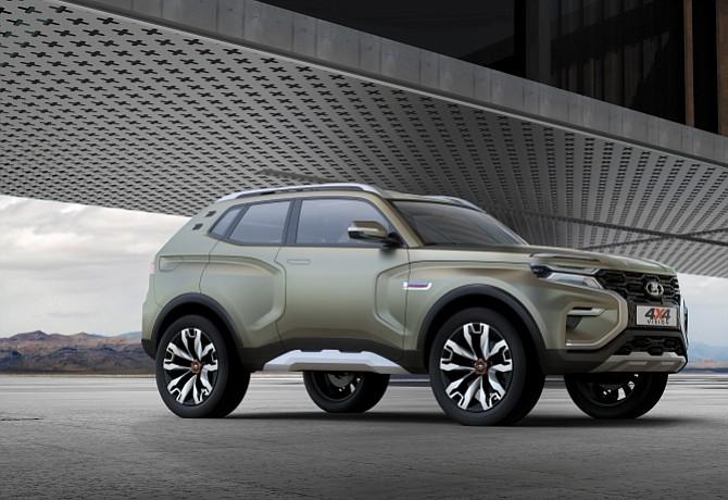 Lada presenta el 4×4 Vision Concept en el Salón de Moscú