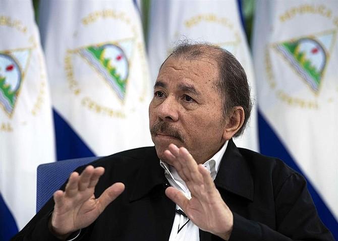 MANAGUA. Daniel Ortega sostiene que sigue siendo marxista y defiende el sandinismo, el 4 de septiembre de 2018