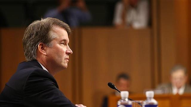 WASHINGTON. Brett Kavanaugh testifica al comienzo de las audiencias celebradas para su confirmación como juez, en el Hart Senate Office Building de DC, el 4 de septiembre de 2018