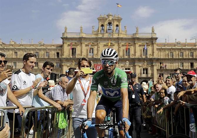 Nelson Soto fue cuarto en la etapa 10 de la Vuelta a España