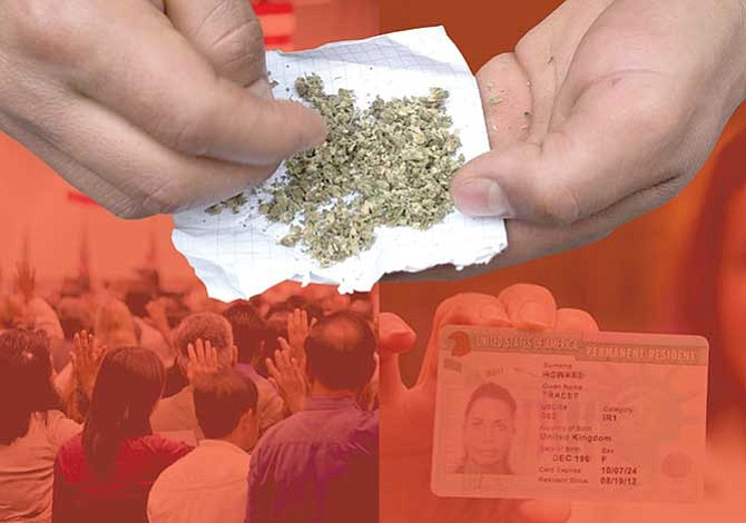 Consumo de marihuana perjudica trámites migratorios