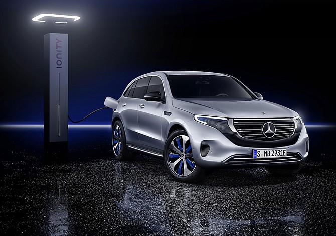 Mercedes-Benz EQC, un placer eléctrico que deslumbrará en 2019