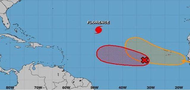 CLIMA. El Centro Nacional de Huracanes (CNH) de Estados Unidos informó que continúa monitoreando el comportamiento de una depresión tropical