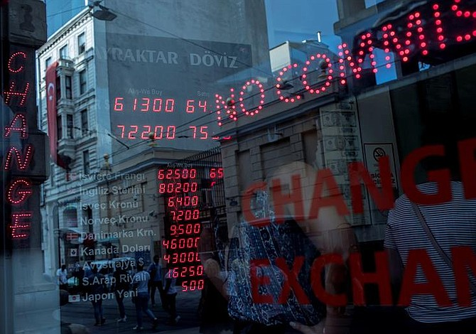 Las acciones mundiales presentan su peor semana en casi seis meses