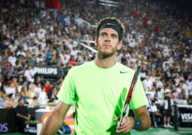 Argentino del Potro avanza a la final del US Open tras retiro de Nadal