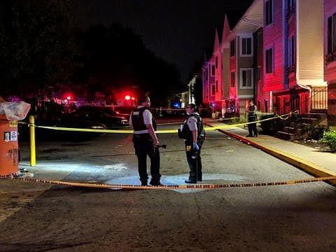 SUCESO. Investigadores del distrito buscan evidencia tras el incidente