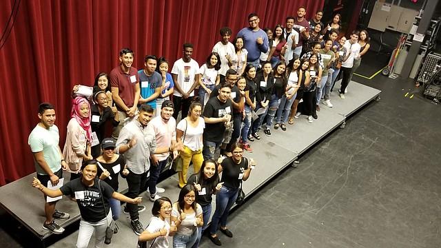 DIVERSIDAD. La mayoría de los estudiantes son de origen o con herencia hispana, pero también se suman beneficiarios de Bangladesh, Camerún, Nigeria y Jamaica