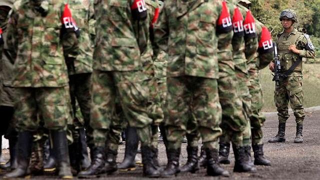 COLOMBIA. Integrantes del Ejercito de Liberación Nacional (ELN)