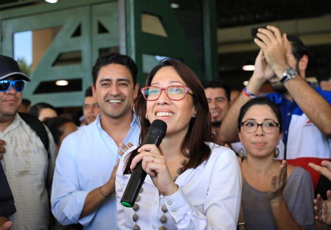 La candidatura de Carmen Aída Lazo en El Salvador