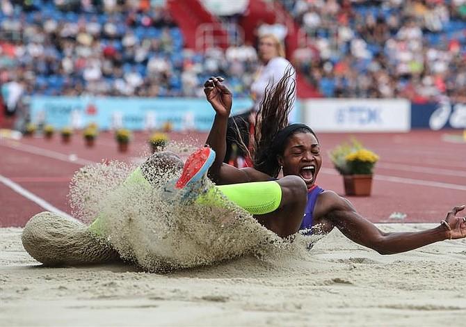 Caterine Ibargüen se coronó en el triple salto de la Copa Intercontinental