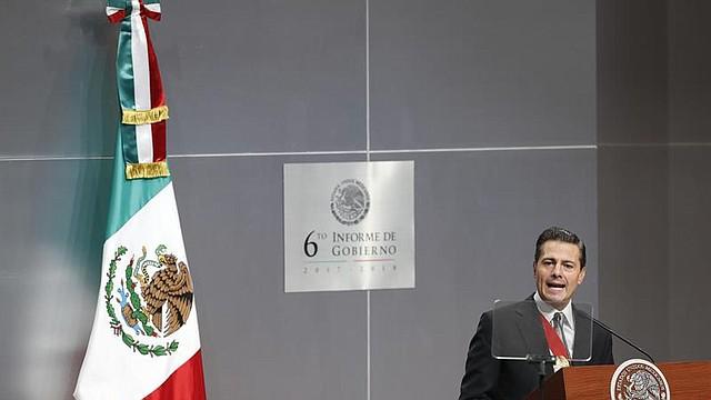 MÉXICO. El presidente de México, Enrique Peña Nieto, presenta el sexto y último informe de su gobierno