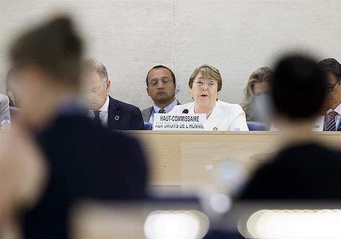 Bachelet pidió nuevo mecanismo para averiguar crímenes contra pueblo de Myanmar