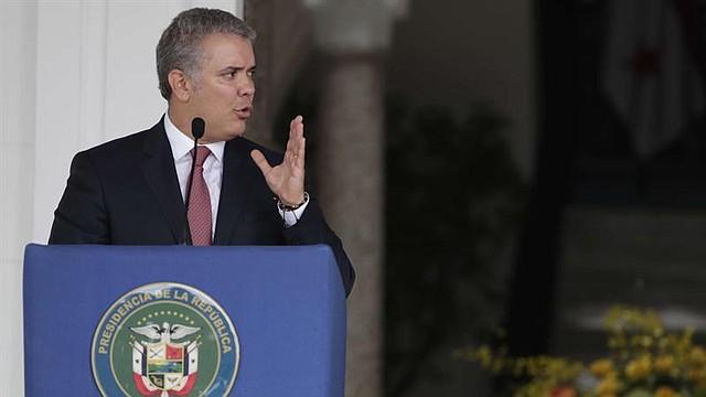 POLÍTICA. Presidente de Colombia, Iván Duque