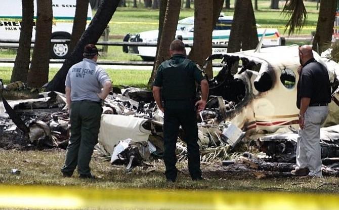 Mueren dos personas tras estrellarse una avioneta en Palm Beach